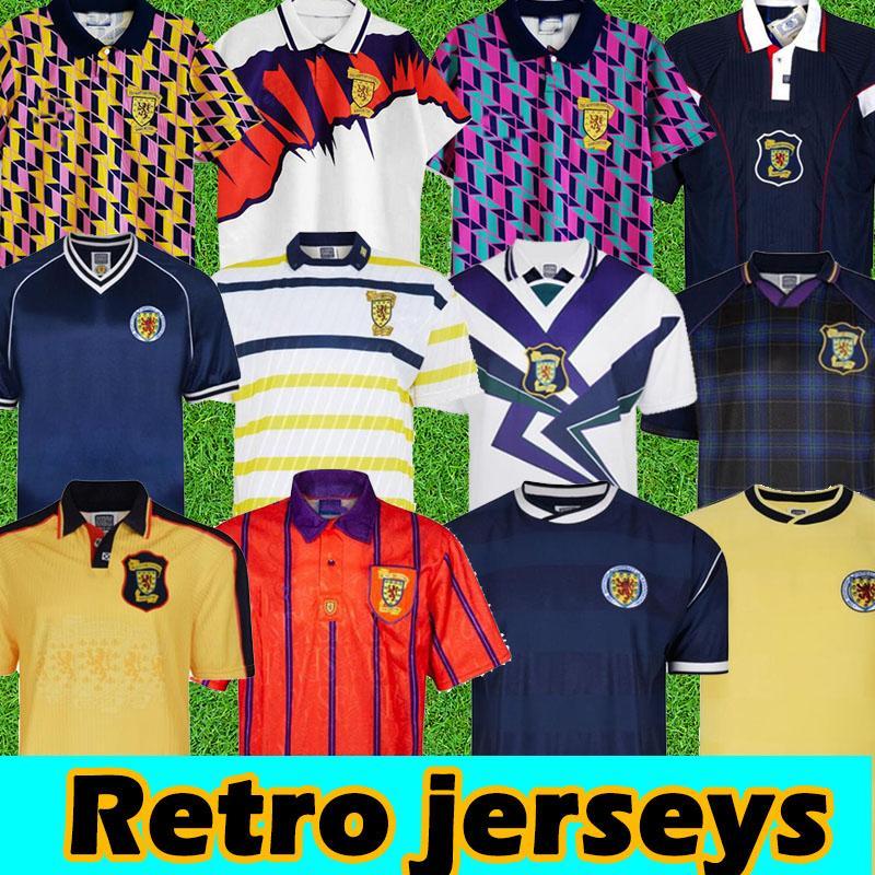 1978 Dünya Kupası Final İskoçya Retro Futbol Formaları 1982 1986 1991 1993 1988 1989 91 93 95 96 98 Klasik Vintage Leisure Jersey Hendry Lambert 2021 Futbol Forması