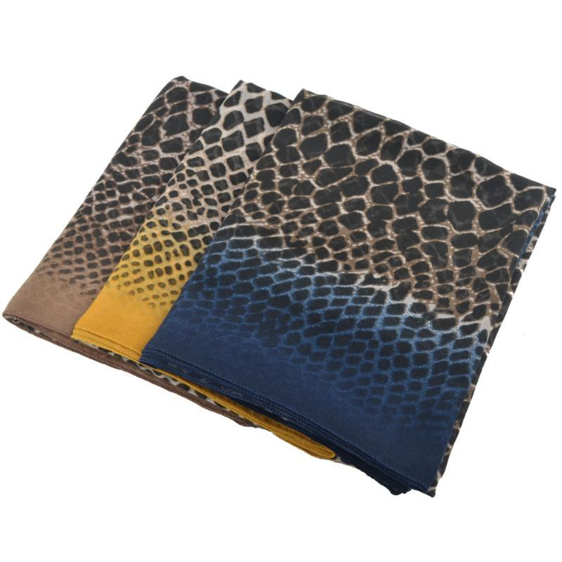 Winter 2021 Snake Animal Print Head Scarf,shawls And Wraps,Muslim Hijab,bandana Bohemian Foulard Femme Musulman,ponchos Cape Scarves
