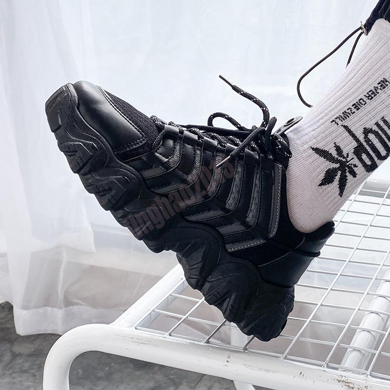 D76 2021 Haute Qualité Hommes Casual Chaussures Sneaker Sports Gris Sports Baskets Sneakers Taille 7-13 des Chaussures 113