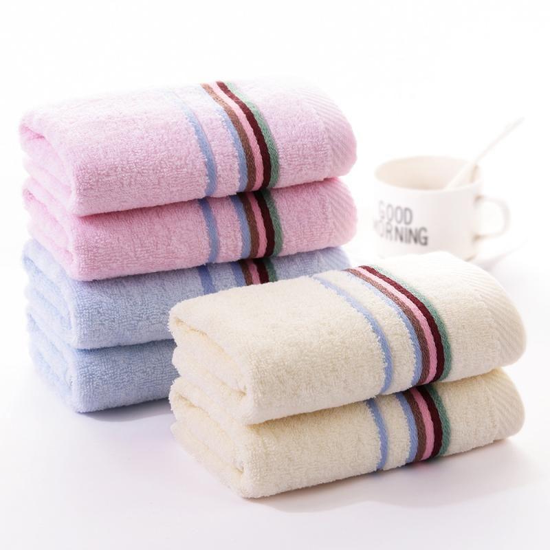 Toalla de algodón puro para adultos Pareja 32 * 72cm Cuarto de baño Toallas de cara