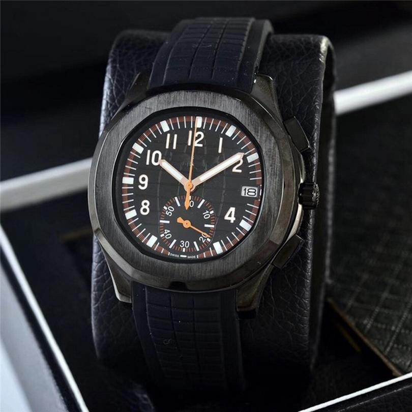Box-Zertifikat-Marke Watch Herrenquarz Edelstahl leuchtendes Tick 39mm kleine Zifferblatt-Arbeit U1 10ATM 021