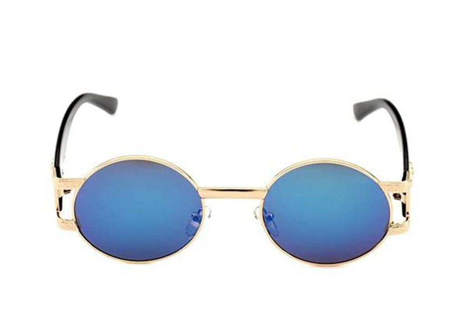 919 ريترو مصمم النظارات الشمسية الرجال والنساء العلامة التجارية النظارات الجديدة إطار معدني خمر رئيس نظارات فاخرة مع مربع حالة