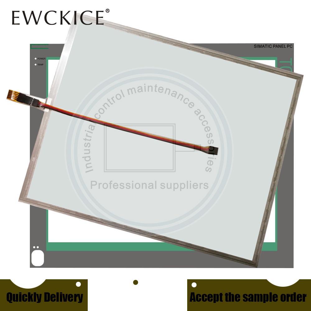 Orijinal PC 477B 19 Yedek Parçalar 6AV7856-0AE20-1AA0 PC477B-19inch 6AV7 856-0AE20-1AA0 PLC HMI Endüstriyel Dokunmatik Ekran ve Ön Etiket Filmi