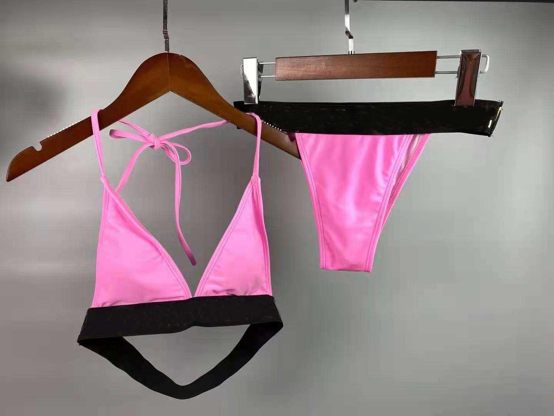 Elegante 21SS Bikini da donna Bikini High Street Elements Casual Sexy Femmina Swimwear Costume da bagno Trend Suit 2-Style Disponibile