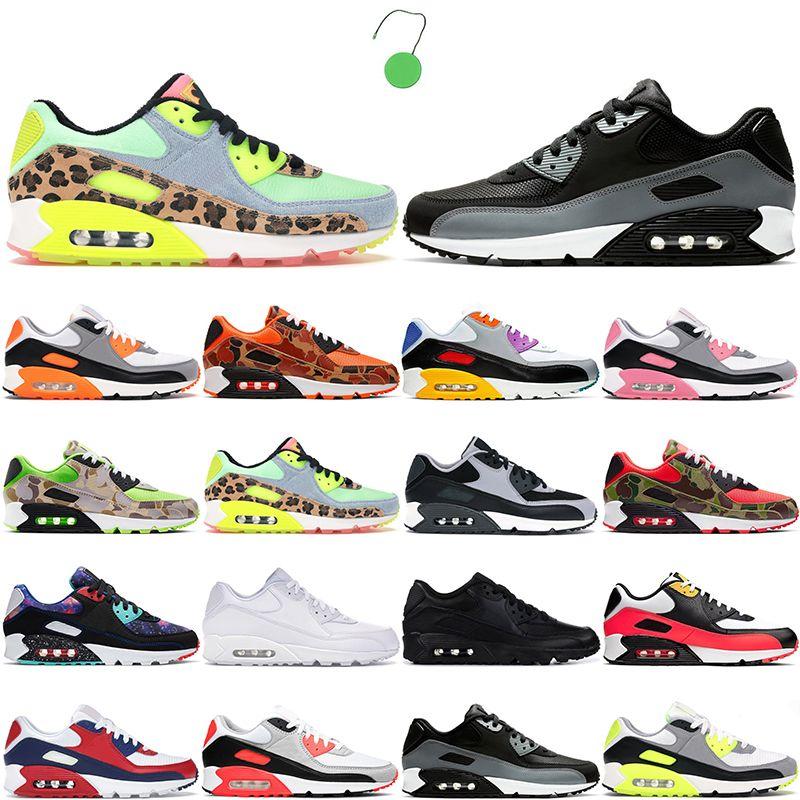 أزياء 90 الرجال النساء أحذية رياضية 90s الأساسية Hyper Grape Dancefloor أخضر أزرق غضب أبيض احذية الجري رجالي المدربين 36-45