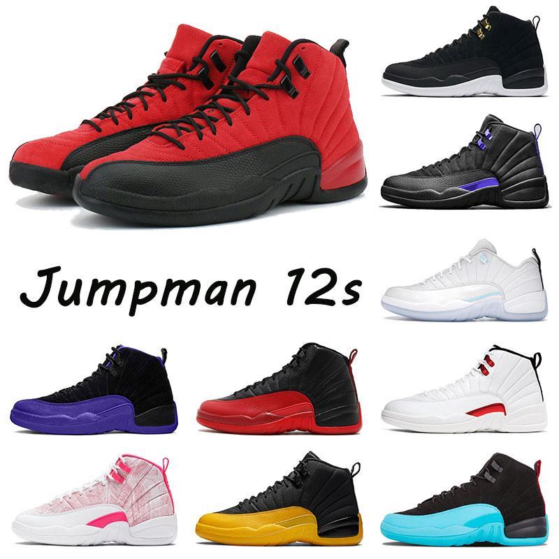 Original Trainers Basketball 12s Shoes Classic Jumpman 12 Retro Bowl University Gold Utility Twist Stone Blue Low Easter Ice Cream Sports Sneakers Men's Women's Flat
