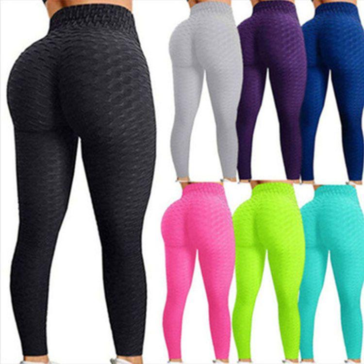 13 цветов женские брюки йоги формирование белых спортивных леггинсов толчок колготки тренажерный зал Упражнения высокой талии Фитнес бегущий спортивные брюки