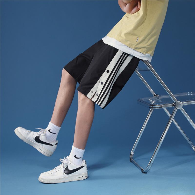 Бренд шорты мужские 2021 летняя тренд мода мода большой размер свободно тонкие пять точек случайные брюки для мужчин