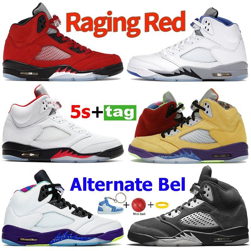 أزياء بيضاء الشبح 5S 5 أحذية كرة السلة ما هي النار النيران الأحمر الفضة اللسان البديل bel العنب se أوريغون الرجال أحذية رياضية