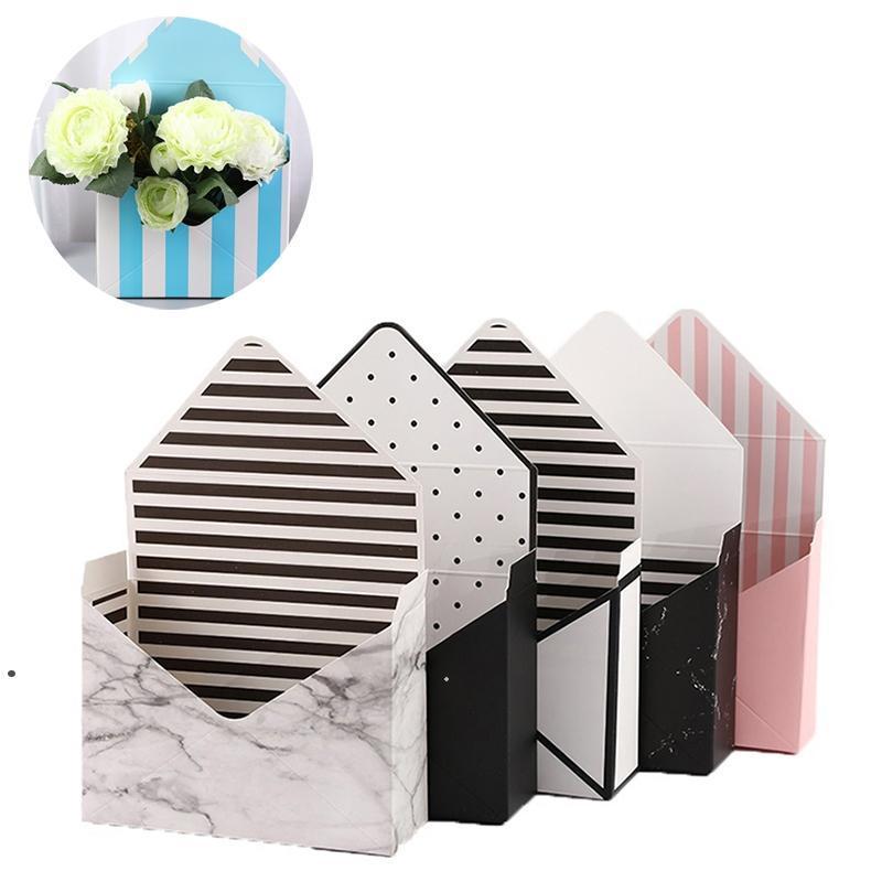 المغلف الإبداعي زهرة مربع الأبيض كرتون للطي روز الصابون زهرة هدية مربع عيد الحب هدية زهرة ترتيب ورقة مربع HHA466