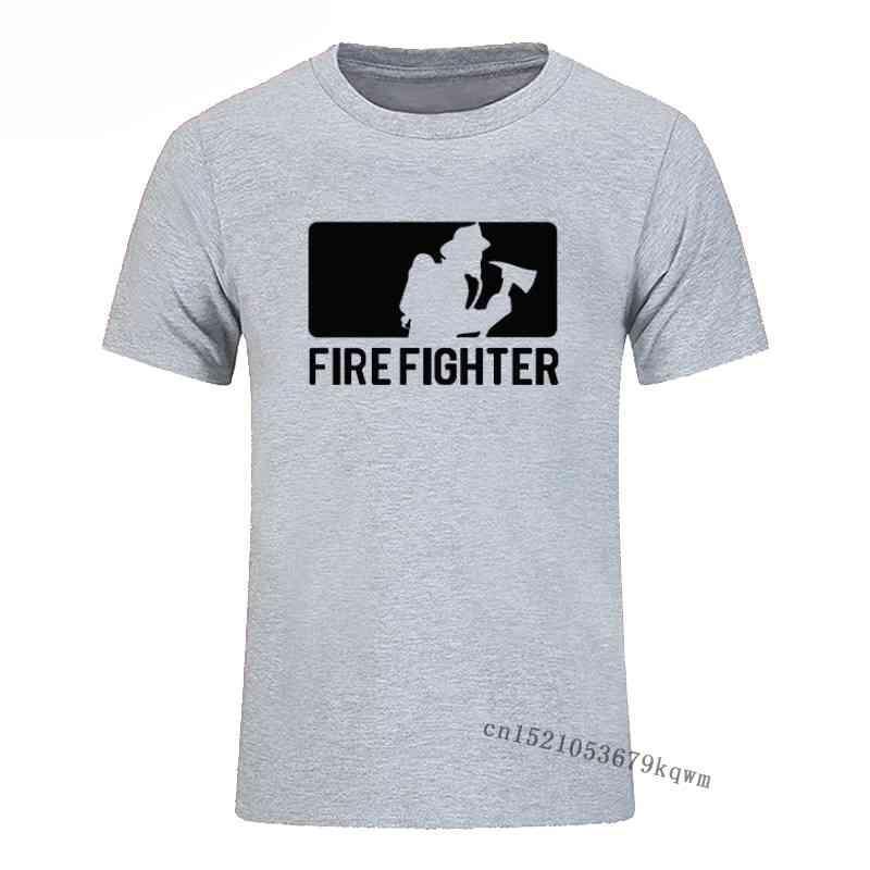 T Shirt Portofighter Fireman Cotone Basic Tshirt Casual Top casual Tees manica corta Camisas Hombre Top Quality
