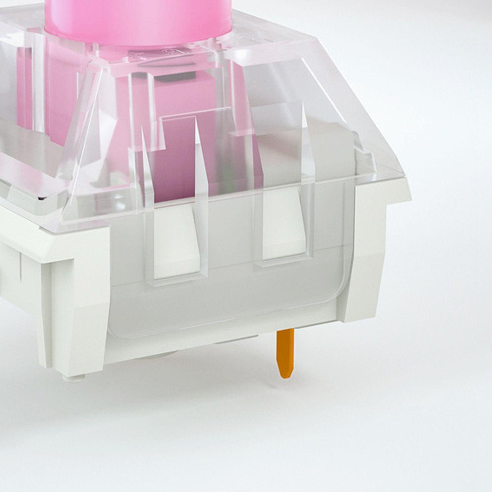5pcs Kailh Caixa Interruptores para teclados de jogos mecânicos de Swappable, Placa Montada 3 Pins