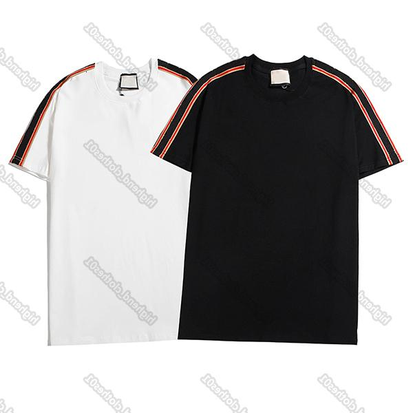 Hommes Tshirt Designers Shirt Vêtements de luxe T-shirts T-shirts de la rue Européenne Mode Marque Lettre Broderie Men Femmes Le même t-shirt Haute qualité
