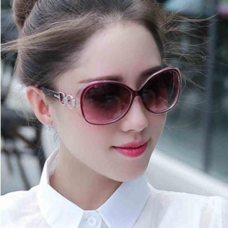 15809 Gafas de sol Mujer Anti ultravioleta Marco grande Riding 9509 EW2W