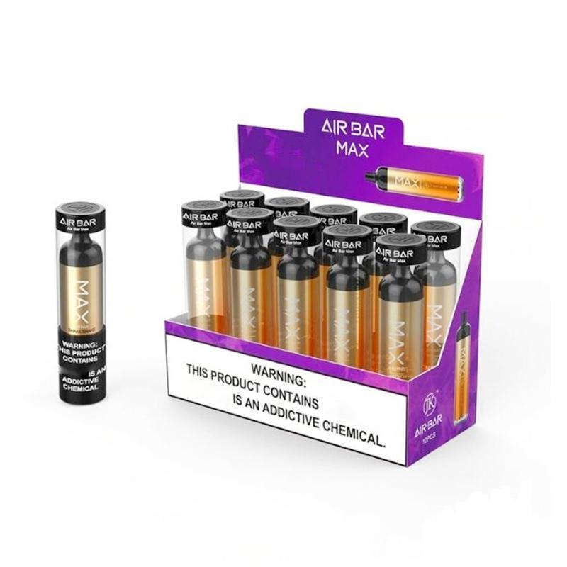 Stock Air Bar Max Lux Disposable Vapes Pen 2000 Puffs E cigarettes 1250mAh 6.5ml Ecigarette Vaporizer Kits AirBar vape VS PuffBar plus