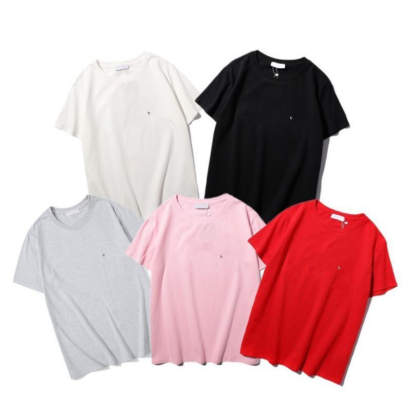 Herren T-shirts Paare Brief gedruckt Paare Style Shirt Klassische Kausal Kurzarm Crew Hals Sommer Kleidung Asiatische Größe
