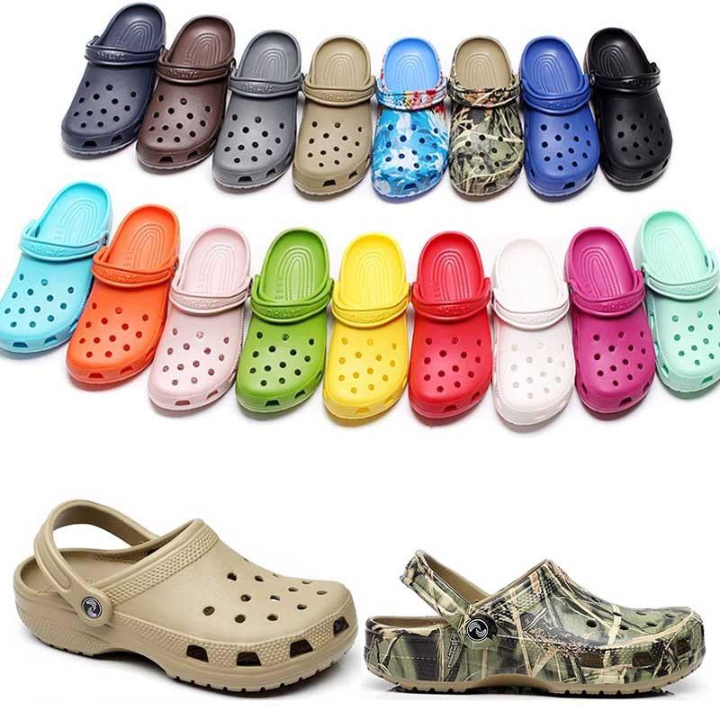 36-47 캐주얼 해변에서 패션 슬립 방수 방수 신발 남성 클래식 간호 Clog 병원 여성 슬리퍼 작업 의료 샌들 90 9