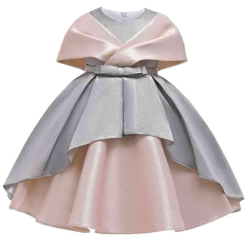 2 Wege Tragen Mädchen Elegant Prinzessin Kleid Blumenmädchen Party Kleid Für Geburtstag Kinder Mädchen Ballkleid Brautkleid 210402