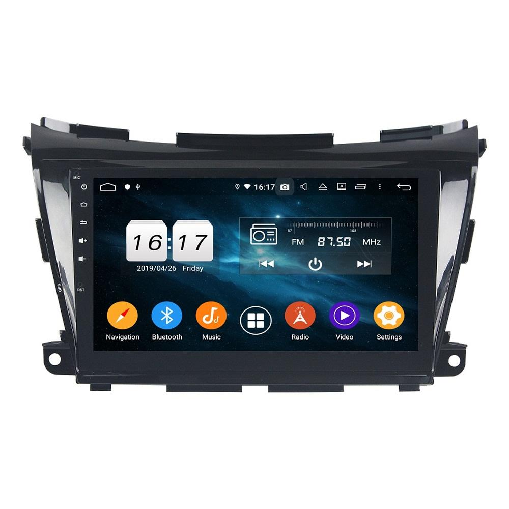 """4GB + 128GB 1 DIN 10.1 """"PX6 안드로이드 10 자동차 DVD 플레이어 닛산 Moraino 2015-2020 DSP 라디오 GPS 네비게이션 블루투스 5.0 WiFi 자동차 멀티미디어 헤드 유닛"""