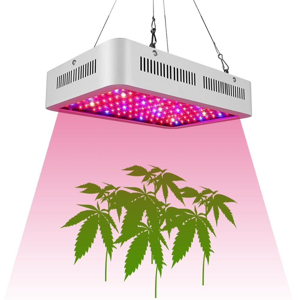 Spectrum 1000w Double Chip LED cresce luzes vermelhas azul UV IR para planta interior e flor alta qualidade