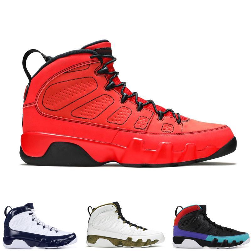9 homens de basquete sapatos estátua escuridão universidade de carvão de ouro botas clássicas xi sneaker
