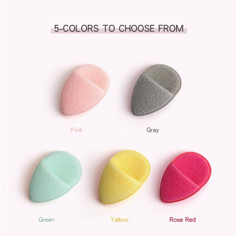 Gant de nettoyage Microfibre Nettoyage de la peau Profond Soins de la peau Vidange de toilette Réutilisable Soft Soft Pad Sponges, Applicateurs Coton