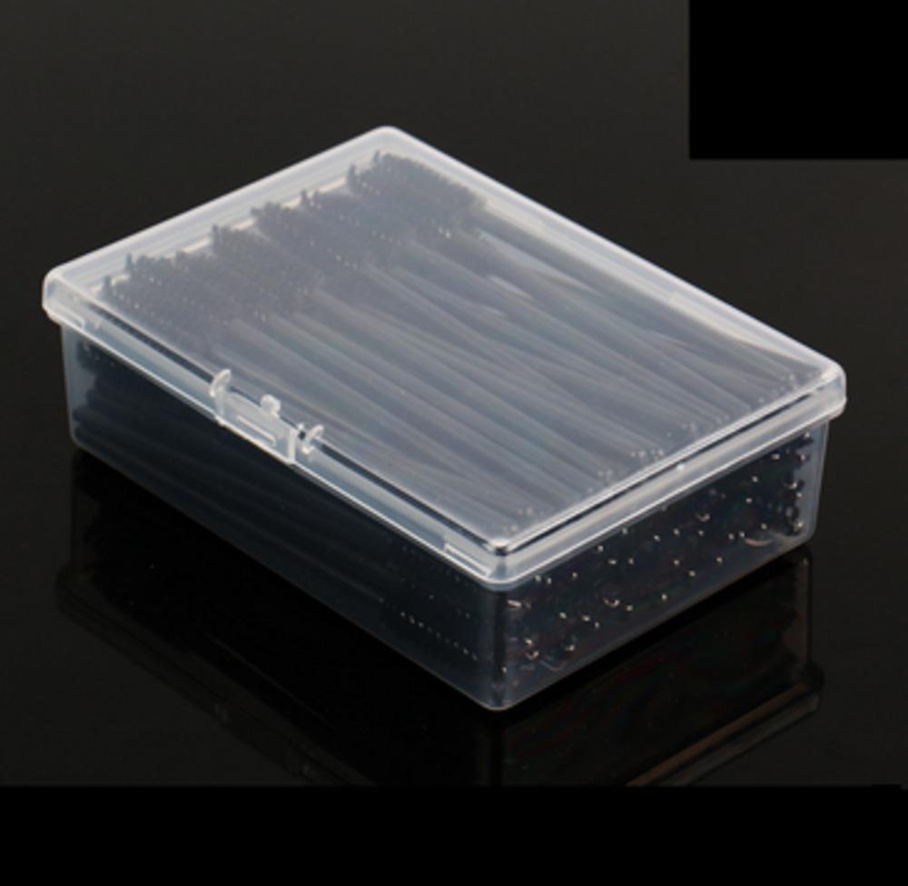 100boxes Disposable Make Up Eyelash Brush Mascara Wands Wand Brush Eye Lash Makeup Brushes Tool With Box Fashion