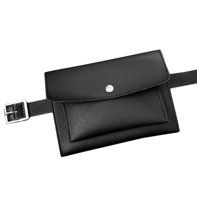 Bel torbaları SFG Evi Klasik Çanta PU Deri Kadın Kemer Paketi Vintage Mini Telefon Basit Rahat Paketleri Fanny 7 Renkler