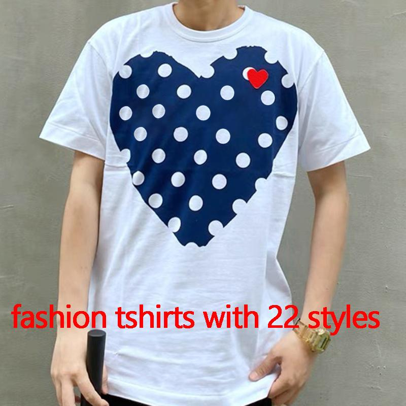 Donne Fasahion T-Summer T-shirt da donna Top con gli occhi del cuore Stampa Uomini T-shirt femminili Ragazzi femminili Ragazze Pullover Manica corta