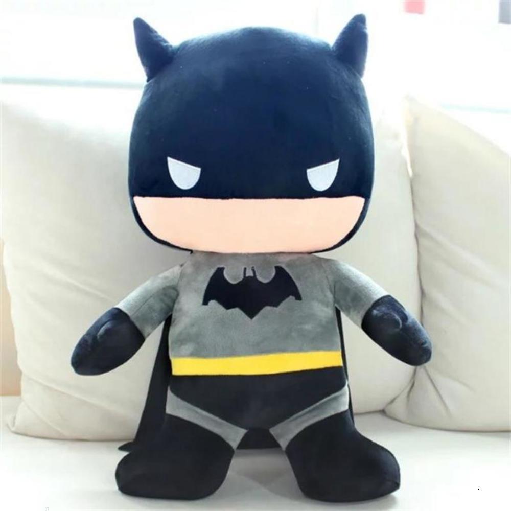 Animaux en peluche étouffés Titre de tir physique Batman contre Cadeau de création pour enfants de Superman pour enfants