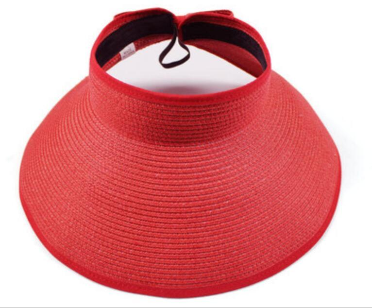 Pieghevole tappo vuoto Big Brim Caps Outdoor Ultraviolet-Proof Sunscreen Beach Hat Primavera Autunno Summer Sun Protection Cappelli KKB7083