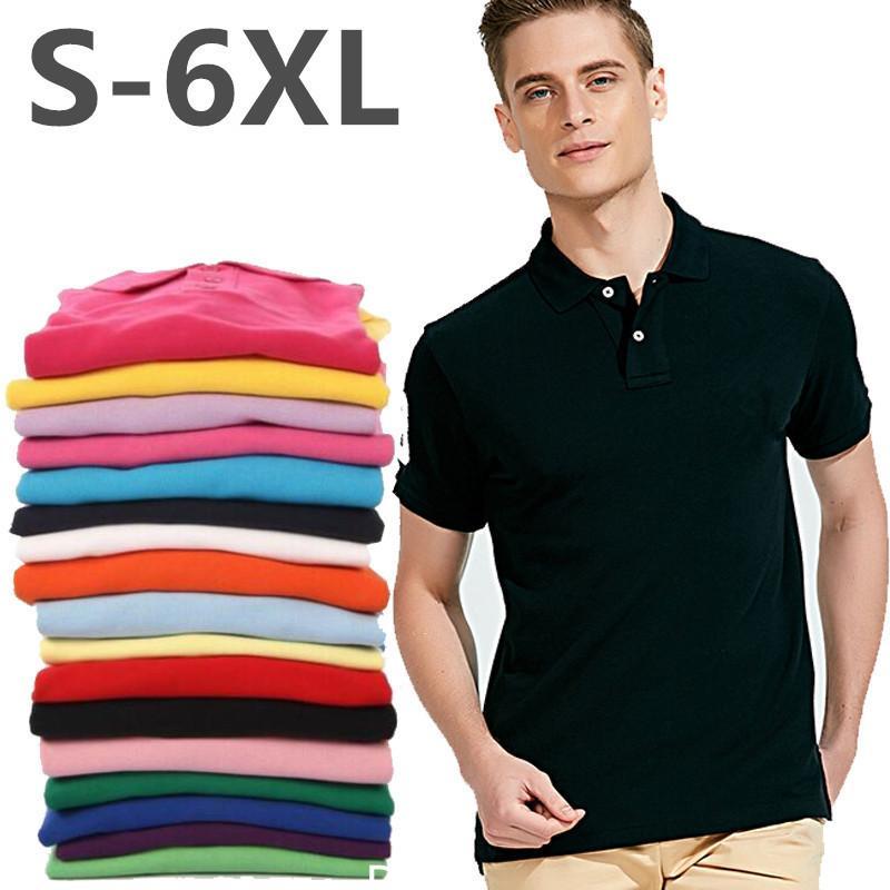 2021 Fashion Lusso Slim Fit Fit Coccodrillo Ricamo Solid Brand Polo Shirt da uomo Estate da uomo in cotone di alta qualità Polos a manica corta
