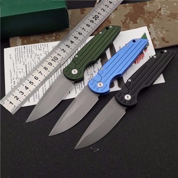Protech TR-4.3 Acción única Táctica Auto Plegable Caza Pocket EDC Cuchillo Camping Cuchillo Cuchillo Cuchillo Regalo de Navidad