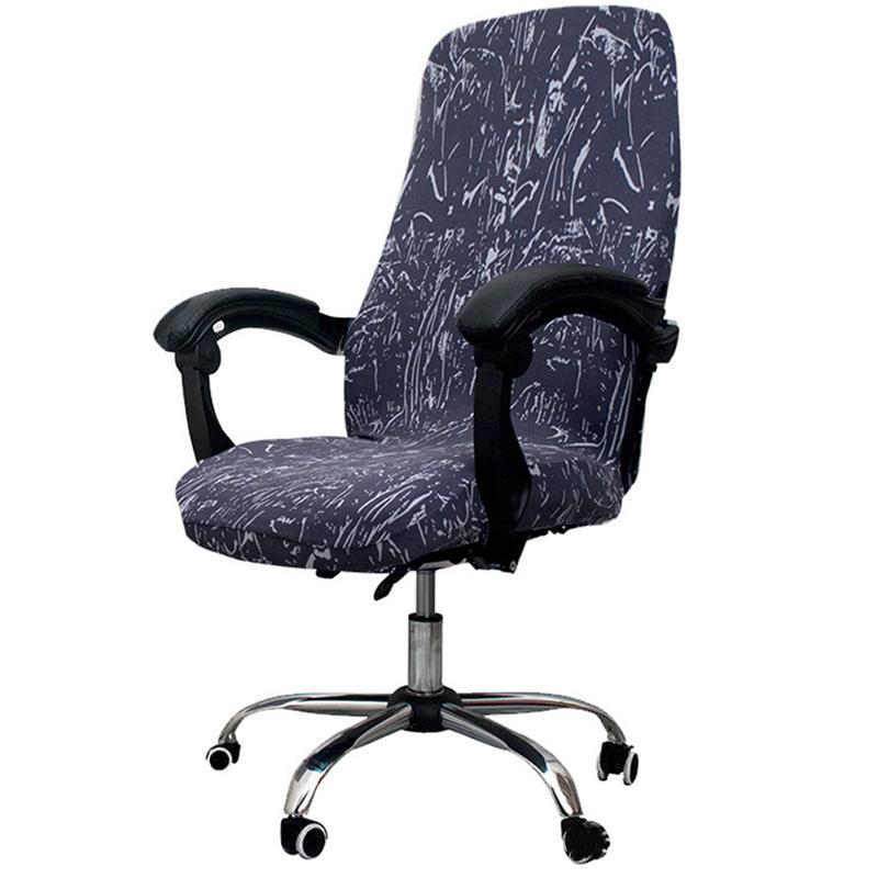 Office girating computadora cubierta de silla elástica anti-sucia removible de elevación de elevación cubierta