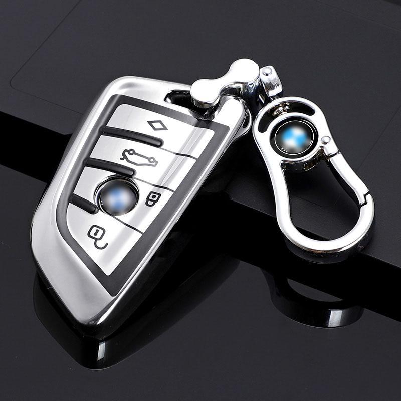 لينة tpu حالة مفتاح السيارة ل bmw x1 x3 x5 x6 f15 f16 f45 f46 g20 g30 7 سلسلة g11 f48 f39 غطاء شل حامي المفاتيح اكسسوارات التصميم