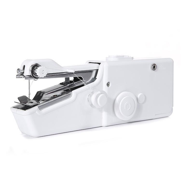 مفيد غرزة المحمولة آلة الخياطة الكهربائية مصغرة المنزل المحمولة الرئيسية الجدول السريع المحمولة واحدة اليدوية أداة ديي اليدوية