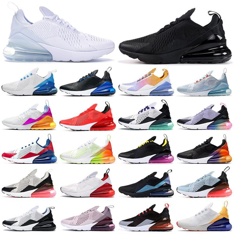 270 running shoes 270s triple black white red women men Chaussures Bred Be True BARELY ROSE mens trainers Outdoor Sport Sneakers