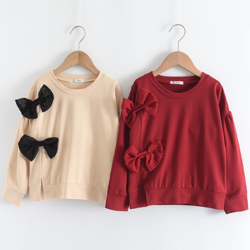 Urso Líder Meninas Criança Floral Blusas 100% Algodão Criança Bebê Flores Roubes Ruffles Doce Camisas Crianças roupas casuais 1172 x2