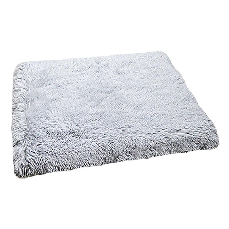 Cat Beds & Furniture Indoor Soft Pet Bed Bedroom Long Plush Multifunctional Mat Winter Warm Home Living Room Self Warming Cushion Cats Dogs