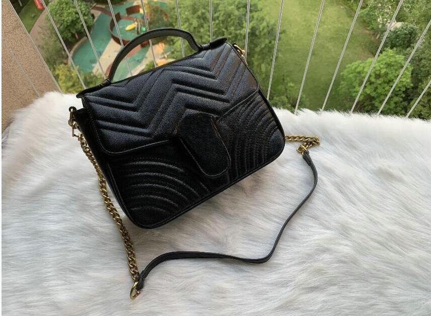 Senhora de alta qualidade Moda Bag Bolsas Elegante e Baixo-chave Aparência Design Bolsa Bolsa de Ombro Bolsas Cross Body 26cm H-JTo