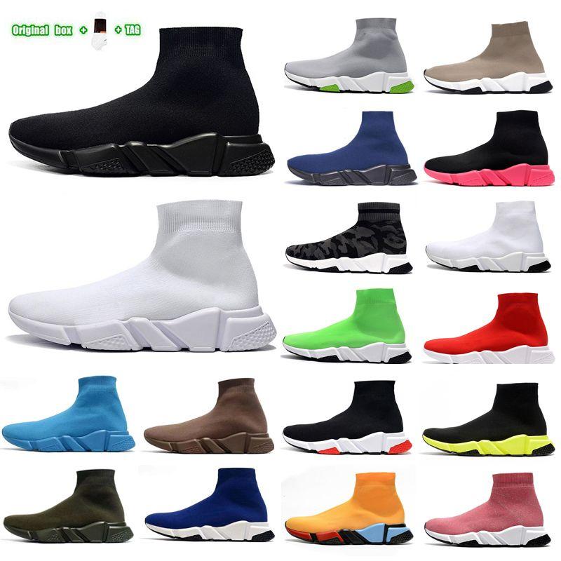 Дизайнеры Мужские Женские Скоростные Тренер 1.0 Носок Сапоги Повседневные Обувь Носки Ботинок Обувь Ручные Бегущие Платформы Платформа 36-45