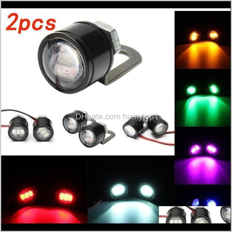Motorcycle Bike Hawk Eye Ghost Fire Lights Refit Lamp Accessories S Eagle Pedal Led Cycle Light Atuhf P8Czi