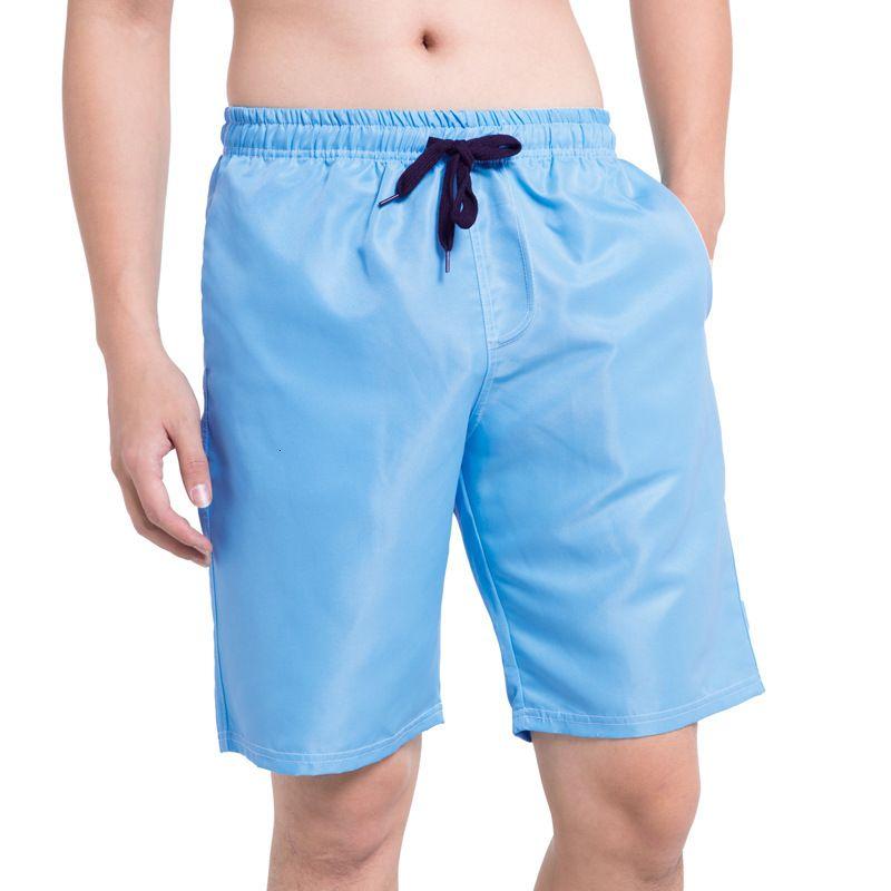 Herren Shortsmen's Shorts Sommer Herren Strand Hosen Solide Farbe Shorts Boxer Sport Fitness Capris