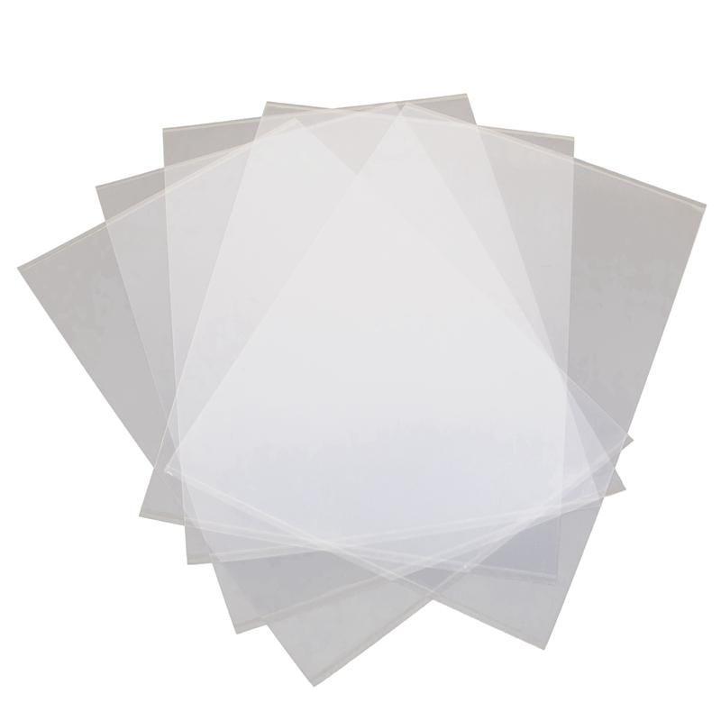 Impressoras 5 folhas FEP Filme 140x200mm x 0.1mm DLP LCD SLA Resin 3D Impressora para Elentoo Mars Wanhao Duplicator D7, Pon