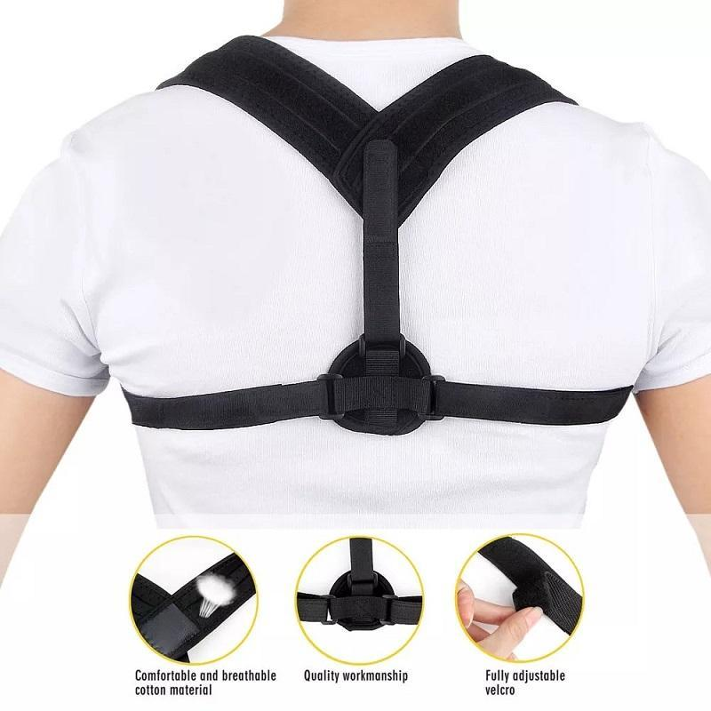 Upper Back Posture Corrector Clavicle Support Belt Slouching Corrective Correction Supports Protect The