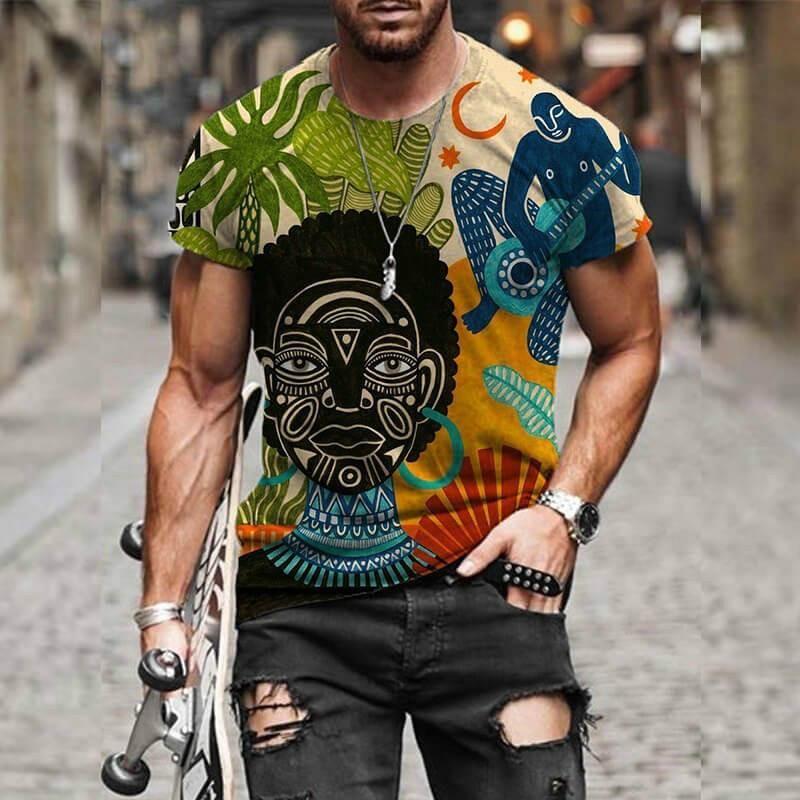 Herren T-Shirts 2021 Novas Camisetas Casuais Maskulinas E Femininas Impressas EM 3D Com O Novo Streetwear de Moda Masculina Alta Qualidade