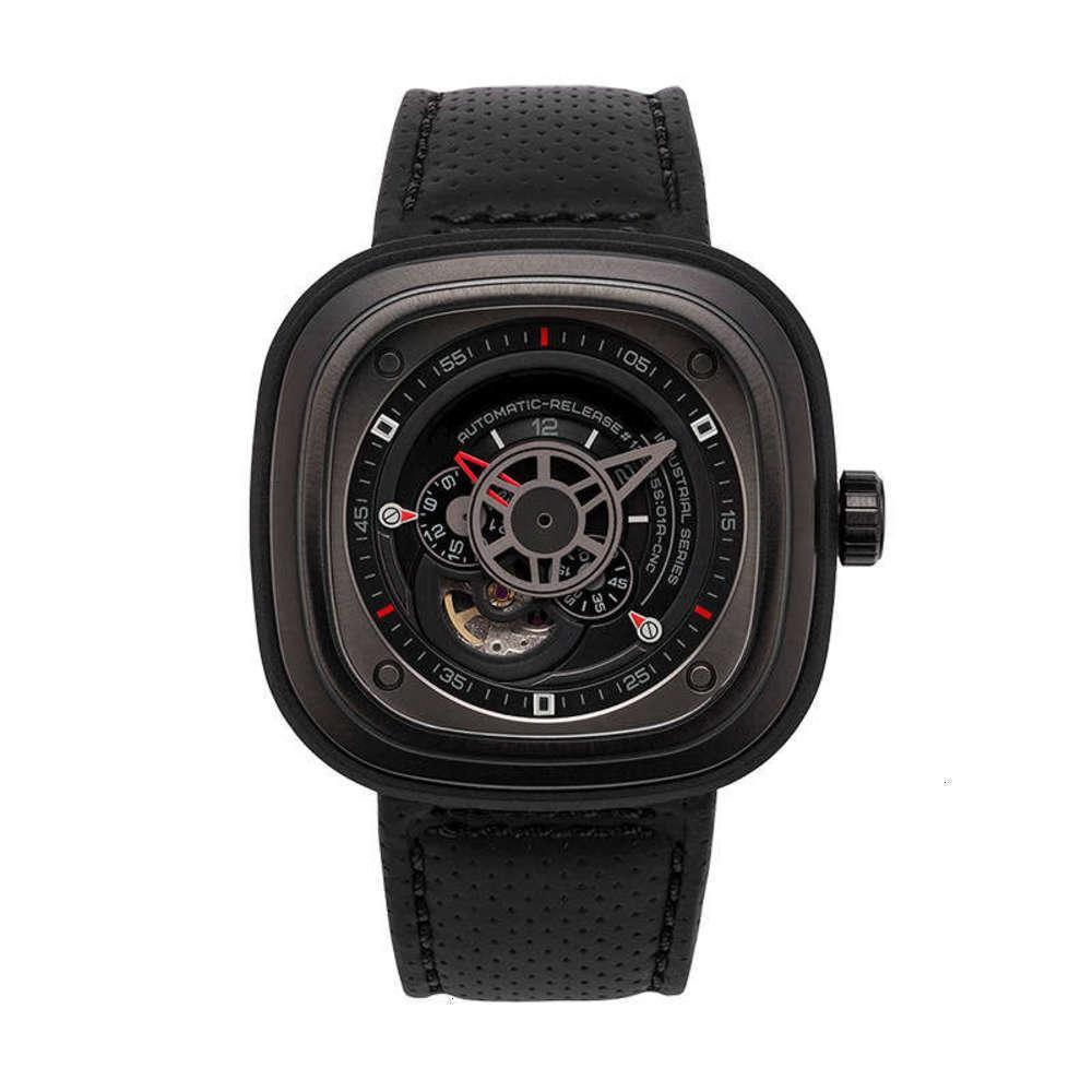 Relógios de pulso cinto mecânico relógios de imitação masculina popular quartzo moda quadrada esportes relógio batch d0pp