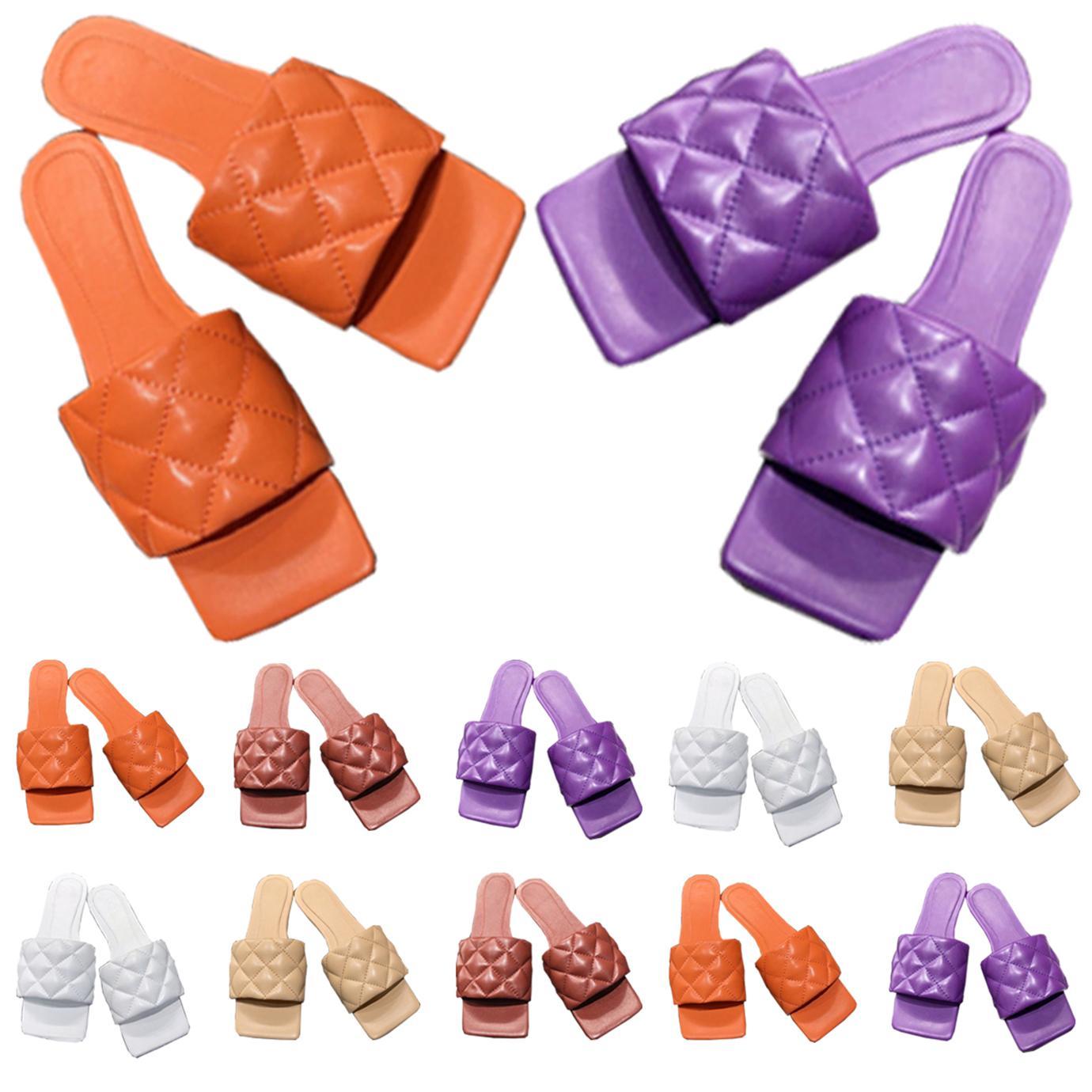 Slipper Men Shoes Luxurys Sandálias Mulheres Designers Flat Slides Flip Flops Paris Verão Praia Sexy Sexy Chinelos de Couro Bordado com Caixa 7521