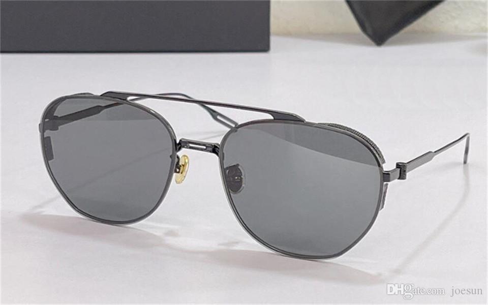 Design de moda óculos de sol ru piloto quadro de metal verão estilos modernos e versáteis uv400 uv400 óculos protetores de qualidade superior