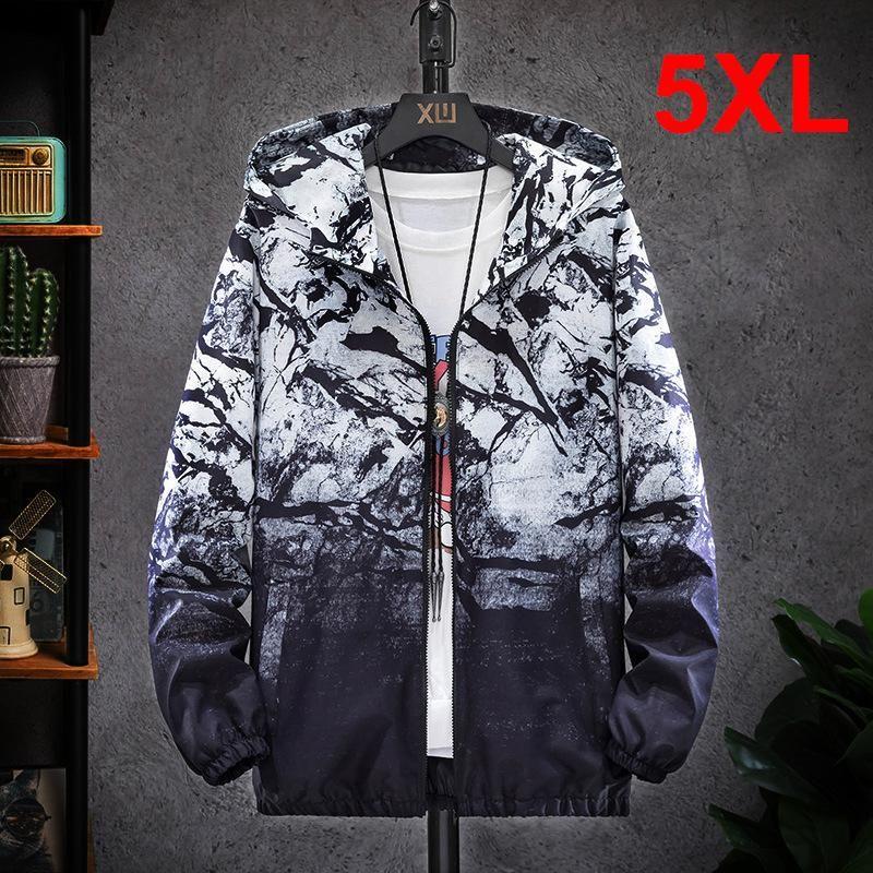 Jaquetas masculinas Windbreaker jaqueta homens casual camuflagem casaco outono 2021 moda casacos camo masculino outerwear grande tamanho 5xl hx507